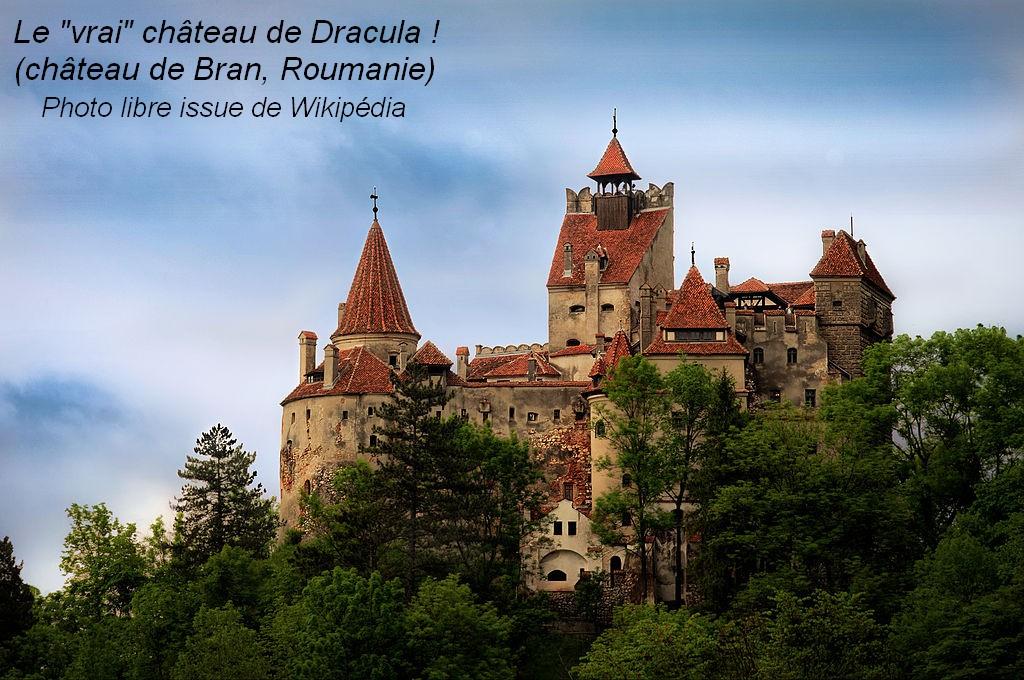 La maison de Dracula Chateau-Dracula