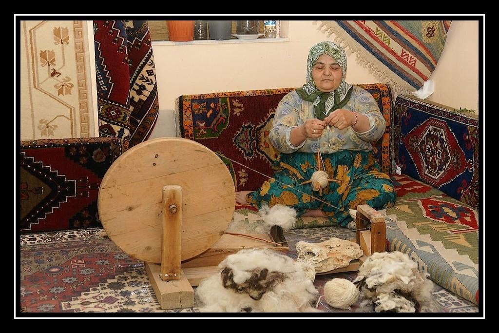 La Turquie du Sud (1 sur 3) Fileuse